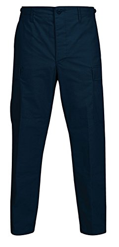 Propper BDU Trouser – Button Fly Pantaloni, Blu Marino Scuro, x Small Regular Uomo