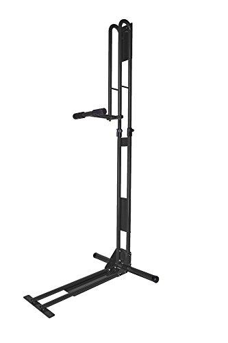 サイクルロッカー(CycleLocker) 室内用縦置き自転車スタンド クランクストッパースタンド CS-650 (BLACK)