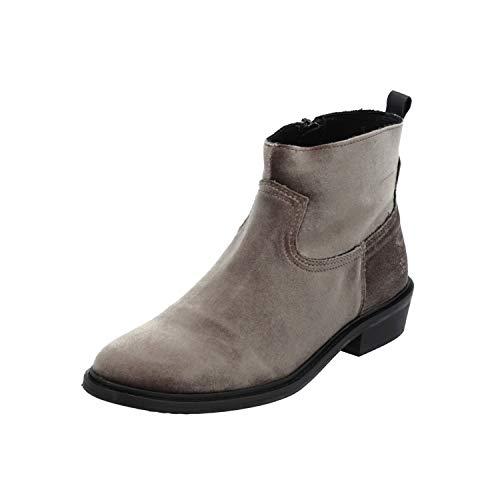SPM BOOGIEWOOGIE Ankle Boot Damen Stiefel Beige Schnür-Stiefelette Winter, Größe:EUR 36