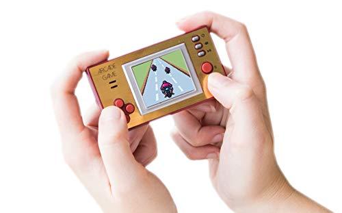 Silvergear Mini Spielekonsole, Retro Spielkonsole mit 150 Spielen, Arcade Games, Pocket Gamer, Tragbare Spielekonsole, Spielekonsolen für Unterwegs