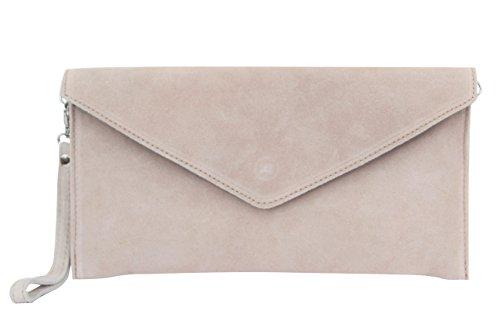 AMBRA Moda - Bolso de hombros de mujeres ( 32 x 2 x 17 cm), rosa viejo