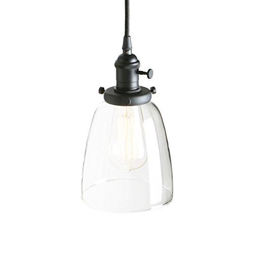 Pathson Industrial Vintage Modern Edison Colgante Lámpara de techo Lámpara Loft Bar...