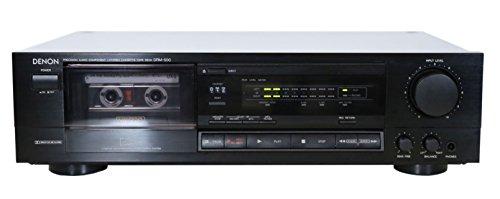 Denon DRM-500 Kassettendeck in schwarz