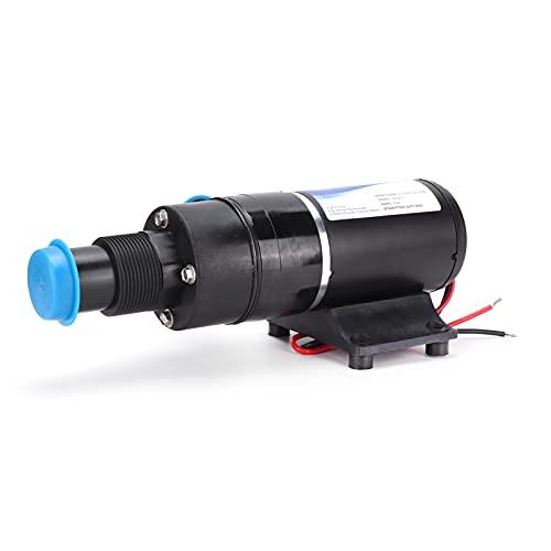 Bomba de refuerzo, bomba de aguas residuales, bomba de impureza, estilo de corte, plástico de ingeniería de acción automática para inodoro, cocina, RV, CC, 12 V