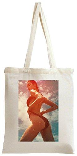 Sexy Hot Bikini Babe Tote Bag