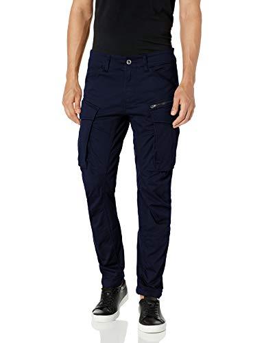 G-STAR RAW Men's Rovic Zip 3d Tapered Trouser, Blue (Sartho Blue 6067), W32/L36