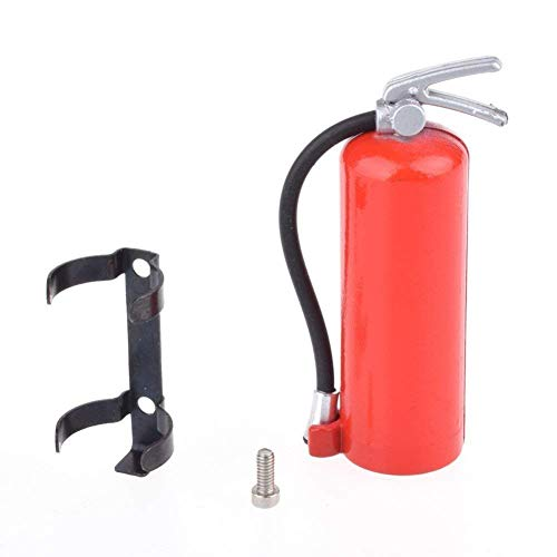 1/10 Scale Fire Extinguisher Rc Rock Crawler Accessory For Amiya Cc01 Rc4wd D90 D110 Rc Truck Car Parts Simulation Decorative Mini Fire Extinguisher
