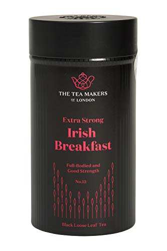 The Tea Makers of London Irischer Frühstückstee lose Teeblätter schwarzer Tee von prämiertem Teeshop Geschenkidee, 1er Pack (1 x 125 g)