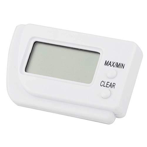 Changor Termómetro de incubadora de Huevos, con función de Memoria ABS 6.5x4x1.5cm higrómetro