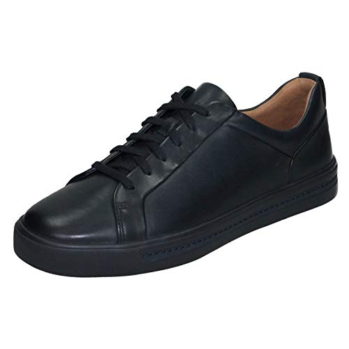 Clarks Un Un Maui Lace, Scarpe da Ginnastica Basse Donna, Blu Navy Leather, 37 EU