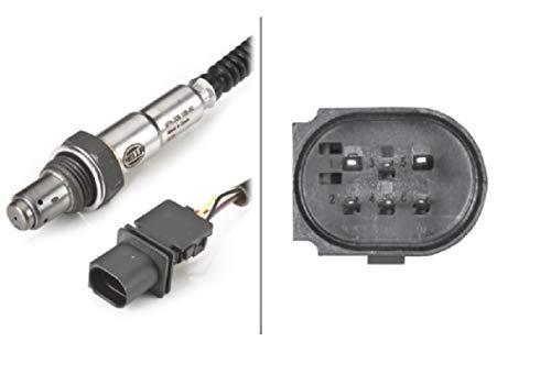HELLA 6PA 009 166-801 Lambdasonde - 6-polig - Kabel: 400mm
