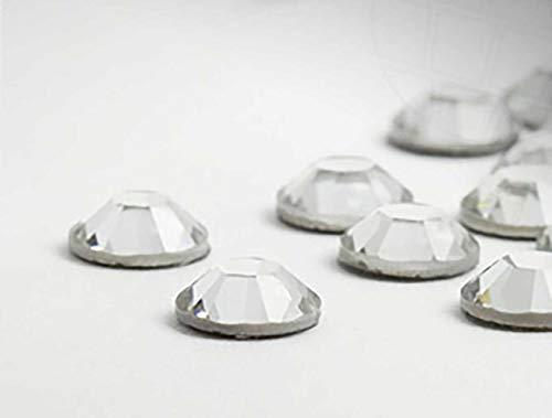 Strasssteine No-Hotfix von Swarovski Elements / SS14 (3.5mm),  Crystal, 200 Stück