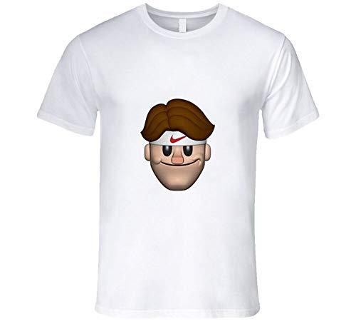 NRGH Roger Federer Emoji Tennis Funny Legend T Shirt