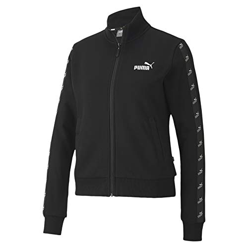 PUMA Damen Amplified Track Jacket FL Weste, Schwarz, XS