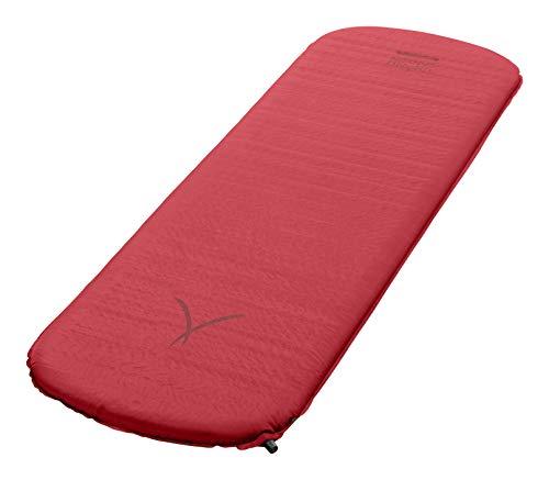 Grand Canyon HATTAN 5.0 M - Materasso da campeggio autogonfiabile, materasso ad aria - 185x55x5,0cm - American Beauty (rosso bordeaux)