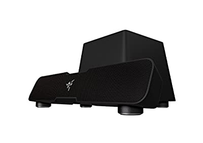 Razer Leviathan: Dolby 5.1 Suround Sound - Bluetooth Aptx Technology - Dedicated Powerful Subwoofer For Deep Immersive Bass - PC Gaming And Music Sound Bar by Razer Inc.
