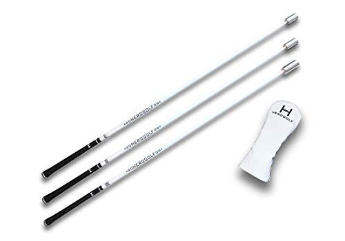 Herogolf Speed-Sticks - Der Golf Schwungtrainer für mehr Geschwindigkeit, längere Schläge und EIN besseres Spiel (Advanced)