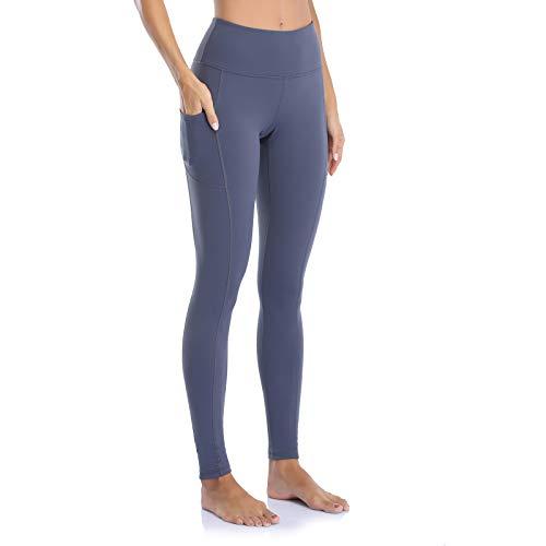 OJIRRU Cintura Alta Pantalón Deportivo Mujer Leggings Mujer para Running Training Fitness Estiramiento Yoga y Pilates Dp16
