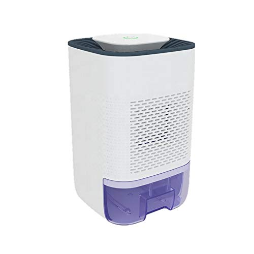 Air Dehumidifier, 500ml Water Tank, Portable & Compact, Quiet Operation for Damp Air, Mould Moisture in Bedroom, Kitchen, Office, Wardrobe, Closet,