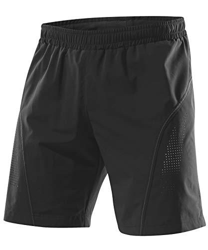 LÖFFLER Short Running Pantalons Superlite 17730 – Short de Course à Pied, Noir990, 48