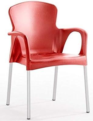 Qeeboo Loop sillón, plástico, Negro: Amazon.es: Hogar