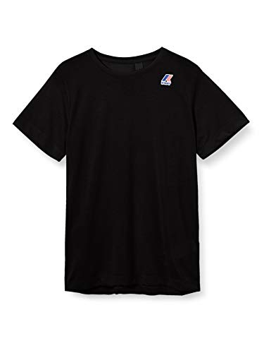 K-Way Edouard T-Shirt, Nero (Black K02), Medium (Taglia Unica: M) Uomo