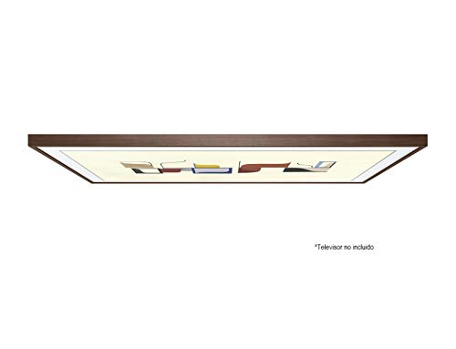 Samsung VG-SCFN49DW/XC The Frame Bilderrahmen, 123 cm (49 Zoll), walnuss