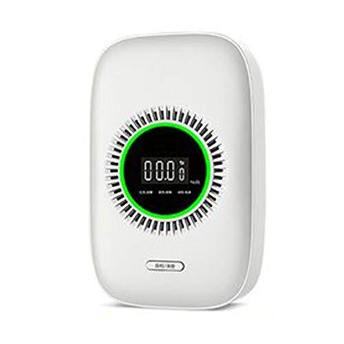 Gas-Leck Alarm, Hauptküche Gas/Kohlenmonoxid/Gas Smart Sensor, Anti-Vergiftung Alarm, Geeignet for Küche, Schlafzimmer