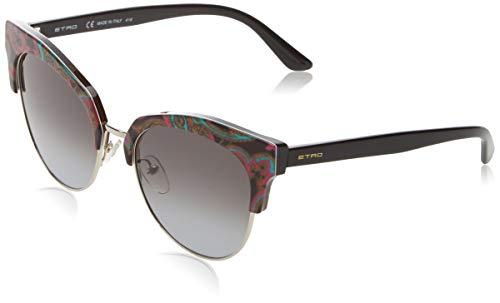 Etro Et108S 014 54 Gafas de sol, Black Paisley, Mujer