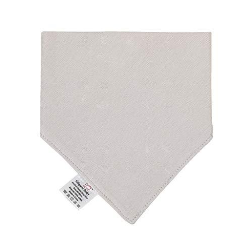 Babero de alimentación para recién nacido, de algodón suave, toalla para saliva, bufanda triangular, pañuelo utilitario para usar