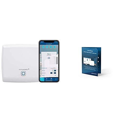 Homematic IP Access Point Smart Home Gateway mit kostenloser App und Sprachsteuerung über Alexa, inklusive mediola App Designer des AIO CREATOR NEO für 3 Monate