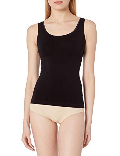 Yummie Women's Seamless Reversible Shapewear Tank top, Black, L/XL