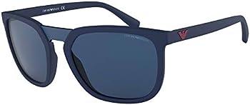 Emporio Armani EA4123 Mens Square Sunglasses