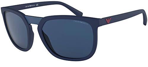 Emporio Armani EA4123 571980 Matte Blue EA4123 - Gafas de sol cuadradas Categoría de lentes