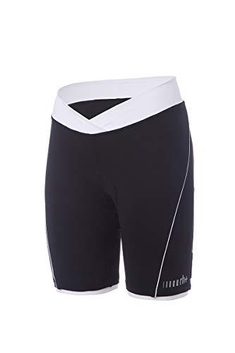 ZERORH+ - Pista W Short Cm18, vêtements ; Femme ; vélo ; Bib & Pant Femme, Femme, ECD0657 910XL, Black/White, XL