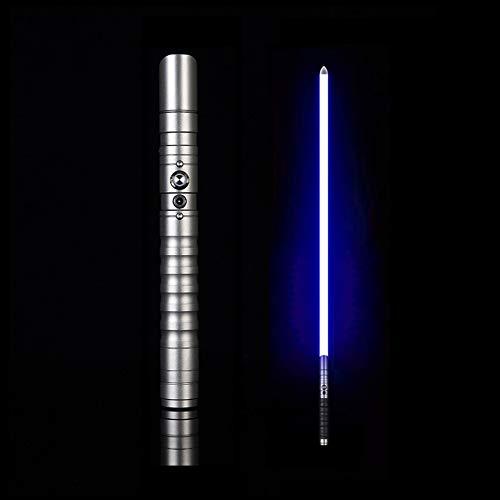 Xbd Sable de Luz Electrónico,Sable de luz Recargable de Metal con Mango FX,se Puede Cambiar de Color,se Utiliza para Juegos de rol,Accesorios de Vestuario escénico