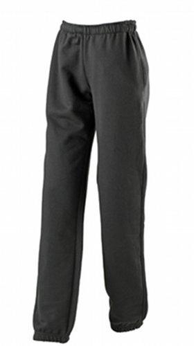 JAMES & NICHOLSON Laufhose Jogging Pantalons-Maternité Femme, Noir (Black), (Taille Fabricant: Large)