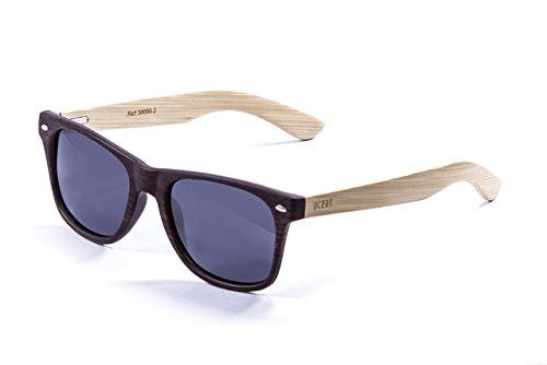 Ocean Sunglasses Beach Wood Gafas de Sol, Unisex Adulto, bambú, 52