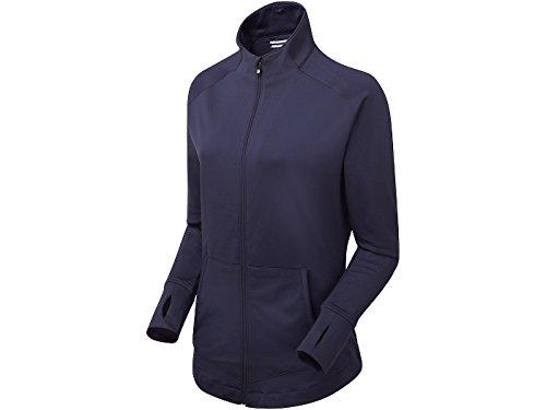 Footjoy Women´s Full Zip Rushed Chill-Out Pullover Blouson À Capuche Femme, Bleu, X-Large (Tamaño Del Fabricante:XL)