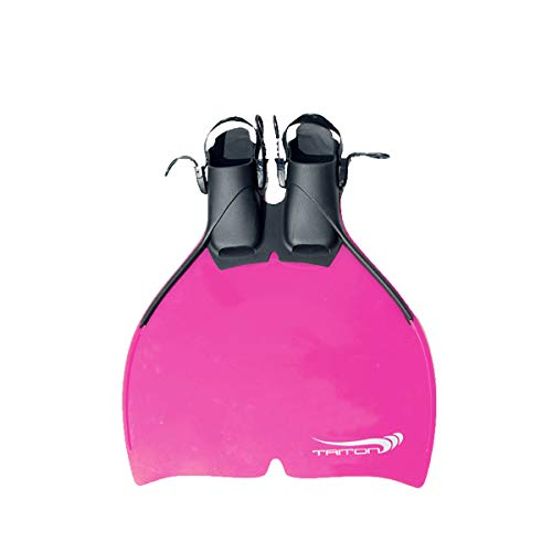 Tauchsportvertretung Monoflosse Triton Größe 34-38 Kinder Mermaid Meerjungfrau, Farbe:pink/rosa