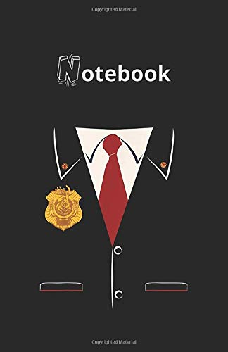 Notebook: Odd Squad Official Agent 118 Pages 5.5''x8.5'' Lined Pages Notebook White Paper Blank Journal with Black Cover Best Gift for Your Kids or Family Detective Notebook