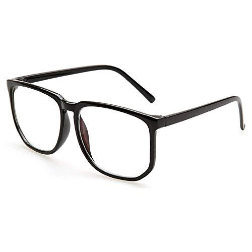 Grande Occhiali con montatura grande Anti Blue Light Glasses Lenti trasparenti anti fatica quadrate …