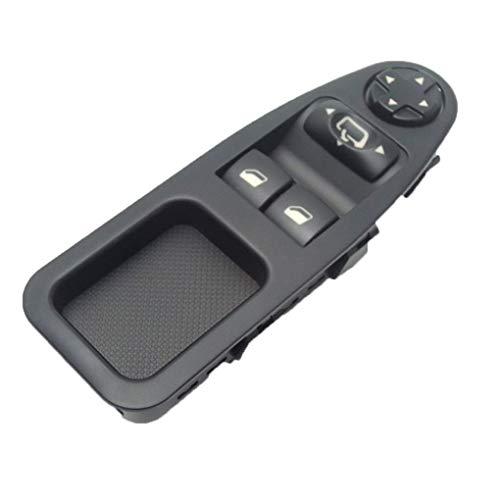 Interruptor de Ventana Conductor Side Power Master Control Switch Fit Fiat Scudo Citroen Jumpy Expert Master 2007-2016 Laimi