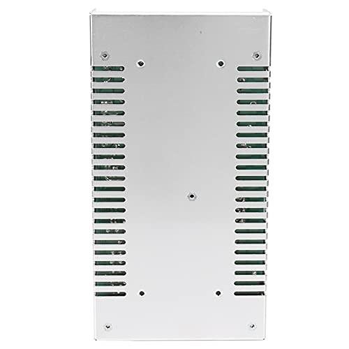 Controlador de fuente de alimentación de interruptor, controlador de tira de luz LED Aislamiento duradero para pantalla LED para ingeniería informática(S-400-48(48V/8.3A/400W) AC110/220V±15%, pink)