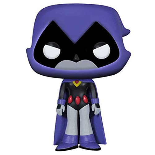 Jokoy Funko Pop Teen Titans Go! #108 Raven with Pop Original Box Chibi