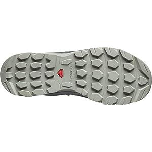 Salomon Women's Hiking Shoe, urban chic/mineral gray/shadow,7.5 M US