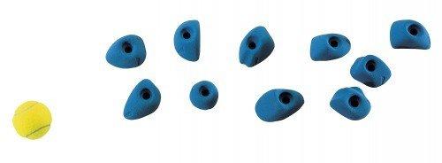 Entre Prises Klettergriffe Tac für Kinder, Farbe:blau