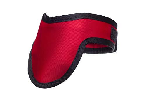 Escudo tiroideo Protección contra la radiación de peso ligero 0.5mm Pb equivalente de plomo en rojo