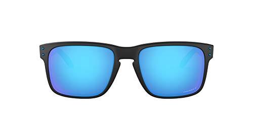 Ray-Ban Herren 0OO9102 Sonnenbrille, Schwarz (Matte Black Prizmatic), 57