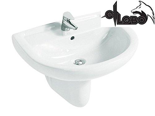 Clivia Top Waschtisch 55 x 44 weiss, CLTOP55, Vigour